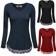 Rayon Casual Solid Plus Size Tops & Blouses for Women