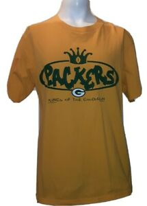 VINTAGE NFL GREEN BAY PACKERS King of the GRIDIRON CLASSIC Lee T SHIRT L 40 x 30