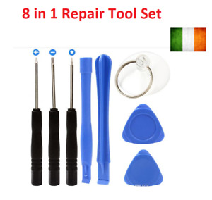 8 in 1 Repair Pry Kit Opening Tool With Screwdriver For Samsung iphone 4S5 6 6S