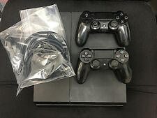 Sony PlayStation 4 500 GB 2 Black consuls, 6 games Model CUH-1215A