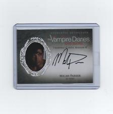2016 Cryptozoic Vampire Diaries Season 4 Autograph Micah Parker