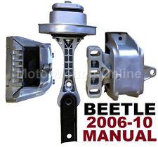 9R3901 3pc Motor Mounts fit 2006 - 2010 Volkswagen BEETLE 2.5L MANUAL Trans