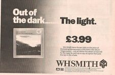 "OMD Organisation (WH Smiths) 1980  UK  Press ADVERT 12x8"""