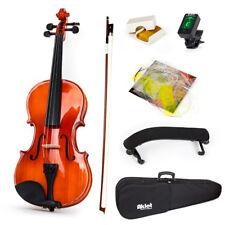 Violin Acoustic Fiddle Musical Instrument Case Bow Shoulder Rest  4/4 Full Size
