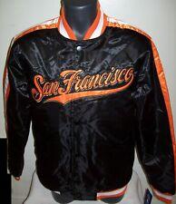 SAN FRANCISCO GIANTS MLB STARTER Snap Down Jacket Fall 2019 BLACK