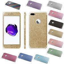 Glitzerfolie iPhone 7 / iPhone 8 Skins Designfolie Bling Glitter Schutz Folie