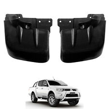 NEW Splash Guard / Mud Flaps Fit 2005-14 Mitsubishi Triton Top L200 Rear Pair