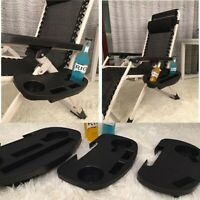 Clip On Chair Side Table Tray Holder Drinks Cup Phone Fishing Camping Outdoor