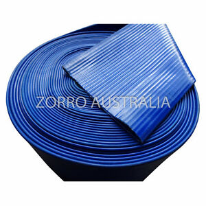 NEW SUNNY Blue Lay Flat Hose Water Delivery (Available Various Sizes)