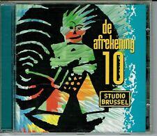 CD : De Afrekening 10 - Studio Brussel