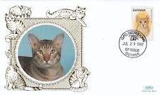 (01735) Guyana Benham FDC Cats 29 July 1997