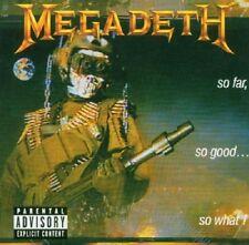 Megadeth So Far, So Good...So What CD+Bonus Tracks NEW SEALED Remixed/Remastered