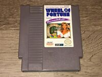 Wheel of Fortune Vanna White Nintendo Nes Cleaned & Tested Authentic