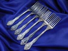 *1* GORHAM KING EDWARD STERLING SILVER DINNER FORK - GOOD CONDITION