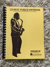 Charlie Parker Omnibook For Eb Instruments By Criterion Music Hal Leonard Corp