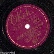 Lew Preston on 78 rpm Okeh 05868: Doin' Things on the Farm/I've Got the Blues