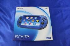 PlayStation PS Vita Wi-Fi PCH-1000 ZA04 Sapphire Blue Japan region free