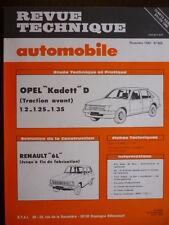 RTA revue technique 405 OPEL KADETT D - RENAULT 6 L