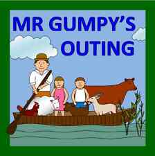 MR GUMPY'S OUTING teaching resources on CD- EYFS/ KS1, story sack, journeys