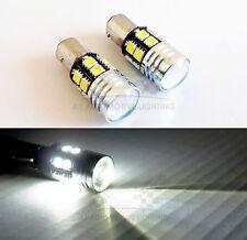 1156 Super White Cree Q5 LED Bulbs 12 SMD 5050 7W Backup Reverse Light
