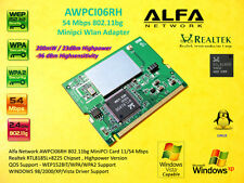 Alfa Network AWPCI06RH MINI PCI CARD 200mW Highpower Linux