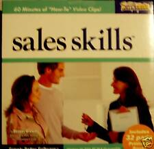 Sales Skills Cdrom Computer Business Career Training Development Software New Cd