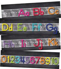 CD 110407 Twinkle Twinkle Colorful Alphabet Banner Classroom Decorations