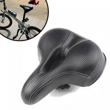 Comfort Wide Big Bum Bike Bicycle Gel Cruiser Extra Pad Soft Seat Saddle Sp Hot