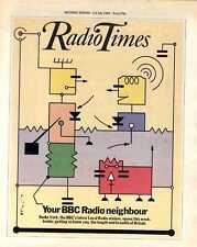 RADIO TIMES MAGAZINE 1983/8/7 JEANINE MCMULLEN, BEIRUT MASSACRE, FREDDIE STARR