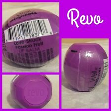 Walgreens REVO Lip Balm Sphere Love-Struck Passion Fruit Retired Exp 2018 NIP