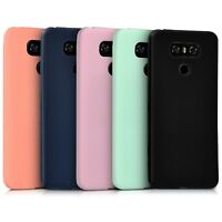 Ultra Slim Lighweight Colourful Soft TPU Silicone Gel Back Case Cover For LG G6