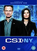 Csi New York Temporada 8 Nuevo DVD Región 2