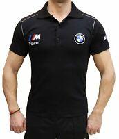 T-shirt fait main BMW M Power COLLIER BRODERIE Polo en coton peigne brode M3 M5
