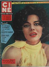 Ciné Télé-Revue n°27- 1961 : Pascale Audret Rock Hudson Jayne Mansfield