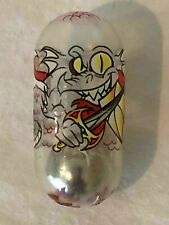 Mighty Beanz Rare Clear 185 Dragon Bean Original Series 3 with Flaw