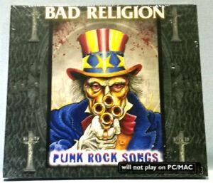 BAD RELIGION + PUNK ROCK SONGS CD    NEU & OVP