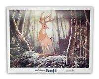 """Bambi"" Original 11x14 Authentic Lobby Card Poster Photo 1982 Walt Disney #2"