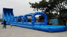 130x30x40 Commercial Inflatable Water Slide Obstacle Course Bounce House Castle