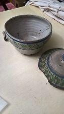 Antica zuppiera in ceramica