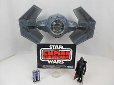 "Vintage Star Wars ANH 1979 Darth Vader TIE Fighter Very Nice ""Fully Functional"""