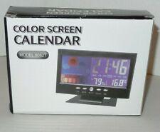 Color Screen Alarm Clock / Weather Station / Calendar Model 8082T