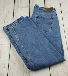 Ralph Lauren Polo Jeans Loose Fit Jeans Straight Leg Style W36 L30 Heritage Fit