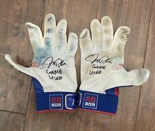 Josh Donaldson GAME USED Blue Jays BATTING GLOVES pair autograph SIGNED