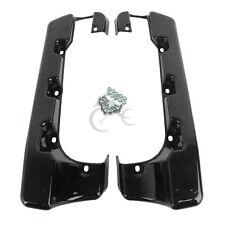 """4"""" Hard Saddle Bag Extension For Harley Electra Street Glide Road King 2014-2017"""