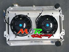radiator & shroud & fans for 1979-1985 Mazda RX7 Series 1 2 3 S1 S2 S3 SA/FB MT