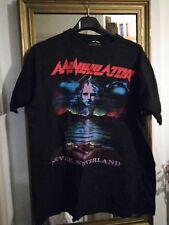 Vintage 90 s annihilator t shirt European tour 93 rare