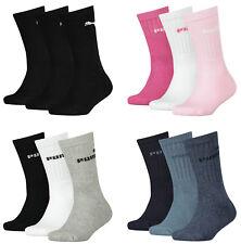 6 Paar PUMA Kinder Sport Socken Baumwoll Frotteesocken Tennissocken