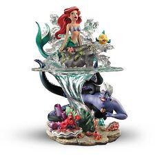 Bradford Exchange Disney The Little Mermaid Part of Her World Ariel Ursula NEW
