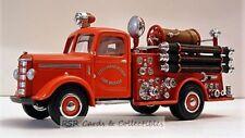 Matchbox Models of Yesteryear Yfe17- 1939 Bedford Pump & Hose - Manchester Fire