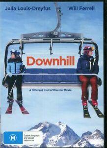 Downhill DVD NEW SEALED Region 4 Julia Louis-Dreyfus Will Ferrell